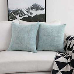 2 Packs Decorative Pillow Covers for Couch Throw Pillow Cove