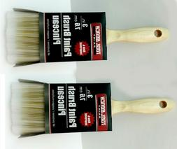"""2 X Tool Bench  3"""" All Purpose Paint Brush 3 inch Each"""