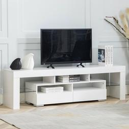 TV Stand Unit Cabinet Living Room Console 59'' Wood Table Wi