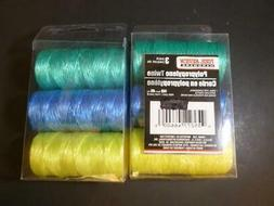 3-roll 2 Packs Color Tool Bench Hardware Polypropylene Twine