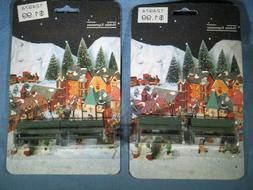 4 Metal Park Benches Holiday Expressions Dickens Accessories