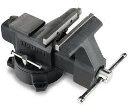 Craftsman 6 Inch Bench Vise Grip Heavy Duty Clamp Wood Metal