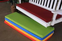 A&L Furniture Weather-Resistant Acrylic Cushions for Benches