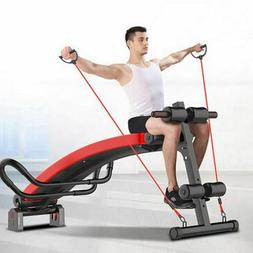 Ab Abdominal Training Bench Fitness Sit Up Board Workout Spo