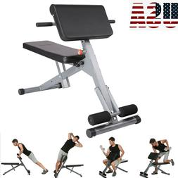Ab Bench Fitness Workout Home Gym Sit Weight Body Abs Exerci