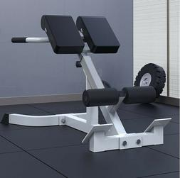 Adjustable AB Back Bench Hyperextension Exercise Abdominal R