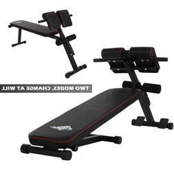 Adjustable Decline Sit up Bench Crunch Board Durable Fitness