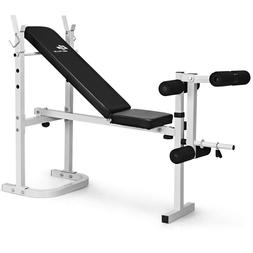 Adjustable Weigh Bench Flat Incline Decline Exercise Strengt