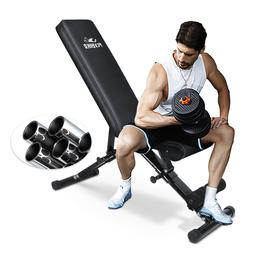 FLYBIRD Adjustable Weight Bench Incline Decline Foldable Wor