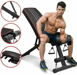 Adjustable Weight Bench Press Lifting Flat Incline Lifting F