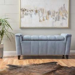 Argus Storage Ottoman Bench by Christopher Knight Home  Larg