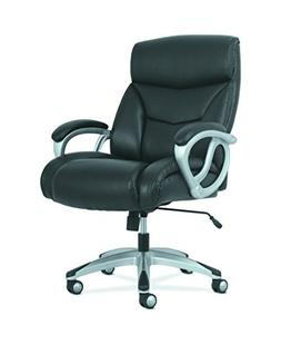 HON BSXVST341 Sadie Big and Tall Leather Executive Chair, Hi