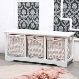 Bedroom Bench with Storage-Organizer Bench Wood Entryway Fur