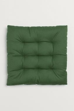 """Bench Seat Cushion Chair Pads Replacements 15"""" X 15"""" Green S"""