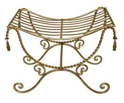 benches buckingham palace vanity bench antique gold