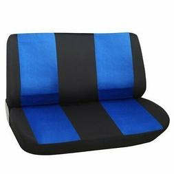 black blue universal car bench seat cover
