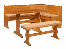 Breakfast Kitchen Nook Solid Wood Seat Dining Bench Chelsea