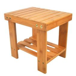 Children Bench Stool Bamboo Wood Convenient Stool Suitable P