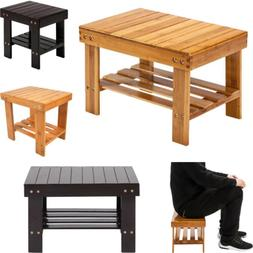 Children Wooden Bamboo Bench Stool Bamboo Wood Stepping Chai