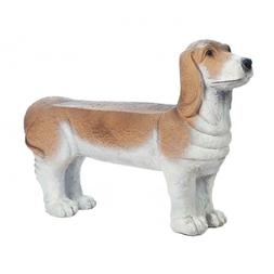 **CLEARANCE 65% OFF** SMALL BASSET HOUND DOG DOGGY BENCH