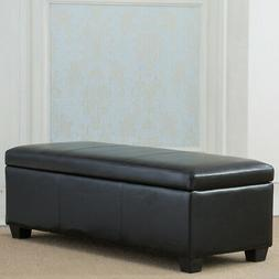 Contemporary Modern Faux Leather/Linen bedroom rectangular S
