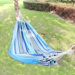 cotton fabric canvas tree hanging suspended hammock