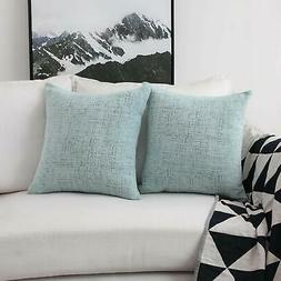 Home Brilliant Deocrative Pillow Covers for Couch Sofa Bench
