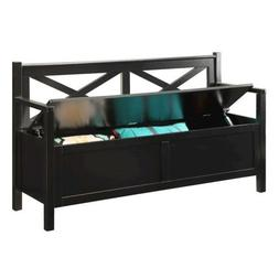 Convenience Concepts Designs4Comfort Oxford Storage Bench, B