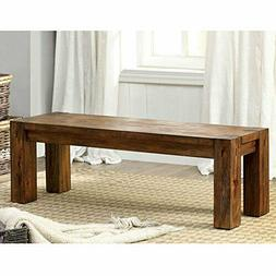 Furniture of America Dining bench, Brown