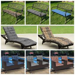 Dining Patio Pillow Chaise Lounge Comfort Cushion Pad Seat B