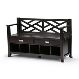 Brooklyn + Max Dover Entryway Storage Bench with Drawers and