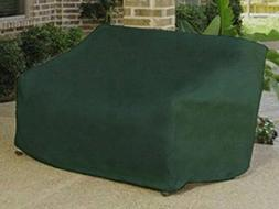 Durable Outdoor Patio Vinyl 3-Seat Glider Chair Cover - Gree