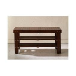 Entry Way Shoe Bench Storage Shelves Rack Seat Bed Mud Room