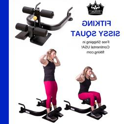 Fitking Heavy Duty SISSY SQUAT Gym Bench with Adjustable Leg