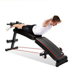 Fitness Portable Sit-up Bench Machine - Home Portable fitnes