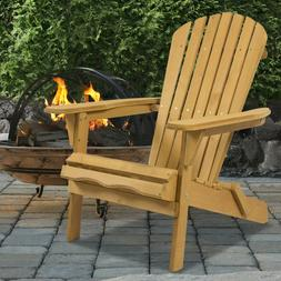 Foldable Patio Lawn Chair Outdoor Deck Garden Furniture