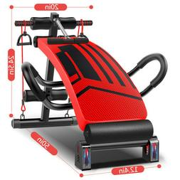 Foldable Sit Up Bench Ab Crunch Exercise Board Decline Fitne