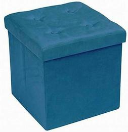 Storage Ottoman Bench, Collapsible/Folding Bench Seat Chest