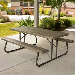 Folding Picnic Table with Bench Outdoor garden Benches Seat