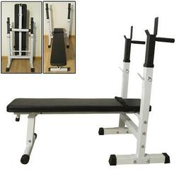 Folding Weight Lifting Flat Sit Up Incline Bench Gym Exercis