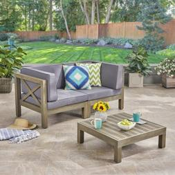 great deal furniture keith outdoor sectional loveseat