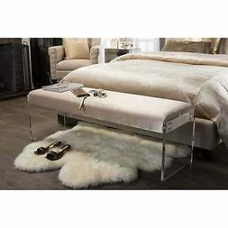Baxton Studio Hildon Modern and Contemporary Microsuede Fabr