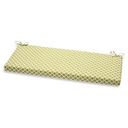 Pillow Perfect Hockley Bench Cushion, Green
