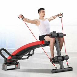 Home Fitness Ab Sit Up Bench Abdominal Training Board Workou