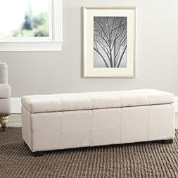 Safavieh HUD8226L Madison Storage Bench Large