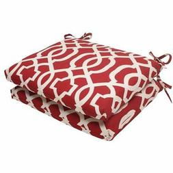 Pillow Perfect Indoor/Outdoor New Geo Squared Seat Cushion,