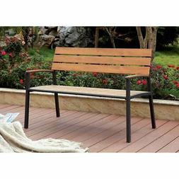 Furniture of America Jory Transitional Metal Slatted Outdoor