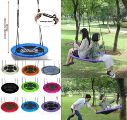 Kid Adult Outdoor 100cm Nest Tree Swing Rope Hanging Large S