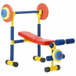 Weight Bench Exercise Equipment For Kids Child Safe Fun Fitn