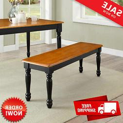 Kitchen Bench Seat Solid Wood Dining Furniture Home Chair In